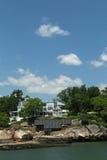 De zomerhuis van U S President William Taft Stock Afbeeldingen