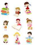 De zomerkinderen Stock Foto's