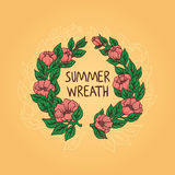De zomerkroon Royalty-vrije Stock Foto's
