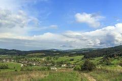 De zomerlandschap van de berg Royalty-vrije Stock Fotografie