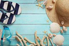 De zomermateriaal stock foto's
