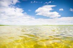 De zomermeer Stock Foto's