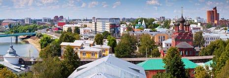 De zomermening Yaroslavl Rusland Stock Afbeeldingen