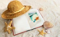 De zomerontspanning Stock Foto's