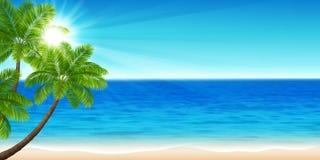 De zomeroverzees Royalty-vrije Stock Afbeeldingen