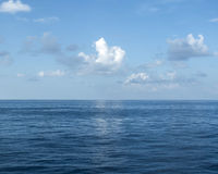 De zomeroverzees Stock Afbeeldingen