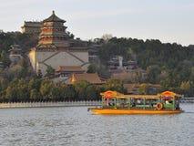 De zomerpaleis, Peking, China Royalty-vrije Stock Afbeeldingen