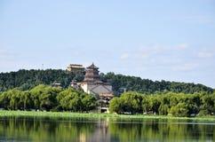 De zomerpaleis in Peking, China Stock Foto's