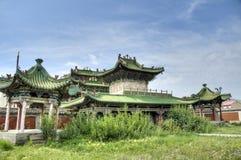 De zomerpaleis, Ulaanbaatar stock afbeelding