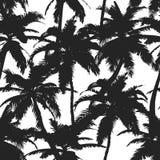 De zomerpatroon met tropische palmen Voor textiel, textuur, drukken, behang, t-shirtontwerp Vector illustratie vector illustratie