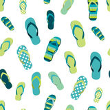 De zomerpatroon van de wipschakelaarkleur Naadloos herhaal patroon, achtergrond vector illustratie