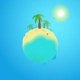 De zomerplaneet Stock Foto