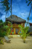 De zomerplattelandshuisje Sri Lanka Stock Afbeeldingen