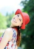De zomerportret Stock Foto's