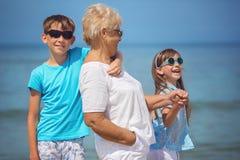 De zomerportret, vakantieconcept Stock Fotografie