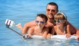 De zomerportret, vakantieconcept Royalty-vrije Stock Foto's