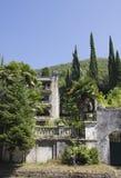 De zomerreis in Abchazië gezichten Stock Foto