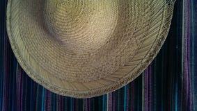 De zomersombrero Royalty-vrije Stock Foto's