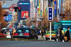 De zomerstraten van Tokyo stock foto