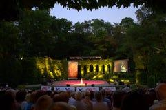 De zomertheater Varna Bulgarije Stock Foto