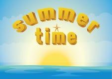 De zomertijd Stock Foto