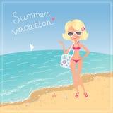 De zomervakantie Royalty-vrije Stock Foto