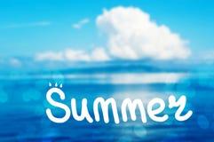 De zomervakantie Stock Foto
