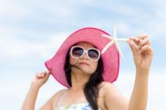 De zomervakantie en vakantieconcept Stock Afbeelding
