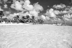 De zomervakantie, reizend concept Costa Maya, Mexico stock fotografie