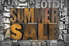 De zomerverkoop royalty-vrije stock afbeeldingen