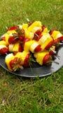 De zomervoedsel Royalty-vrije Stock Afbeeldingen