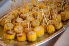 De zomervoedsel Ideeën voor barbecue en grillpartijen stock afbeelding