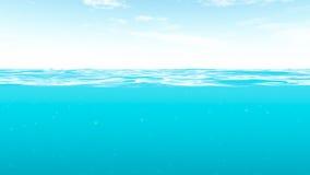De zomerwater Stock Afbeeldingen