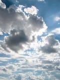 De zomerwolken van Texas stock foto