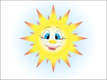 De zon Stock Afbeeldingen