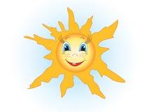 De zon Stock Foto's