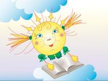 De zon Stock Fotografie