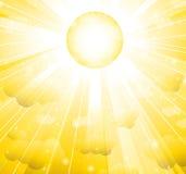 De zon Vector Illustratie