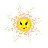 De zon is de bron van het leven ter wereld Royalty-vrije Stock Fotografie