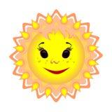 De zon is de bron van het leven ter wereld Royalty-vrije Stock Foto's