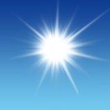De zon glanst Stock Foto's