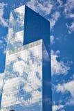 De zon glanst opnieuw op Grond Nul, New York Stock Fotografie