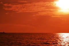 De zon van de hoek Stock Fotografie