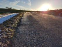 De Zon van de ochtend stock fotografie
