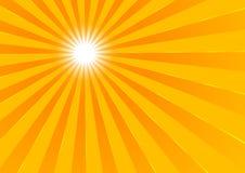 De zon van de zomer Stock Afbeeldingen