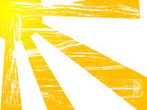 De zon van Grunge Royalty-vrije Stock Fotografie