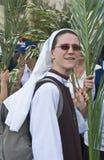 De zondag van de Palm van Jeruzalem Stock Fotografie