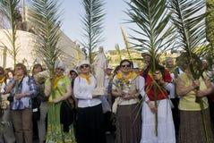 De zondag van de Palm van Jeruzalem Stock Afbeeldingen
