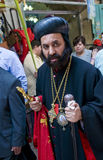 De zondag van de Palm van Jeruzalem Royalty-vrije Stock Afbeeldingen