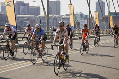 De Zondag van de Uitdaging van de cyclus - Impuls 94.7 Stock Fotografie